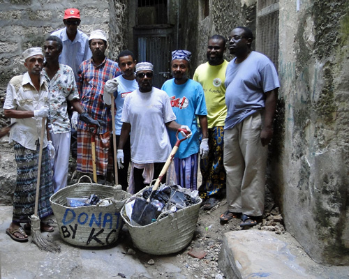 Lamu Clean Up Team