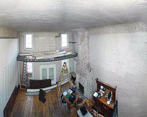 Whitney Studio, 2009, ©Lauren Drapala, Architectural Conservation Laboratory, Un