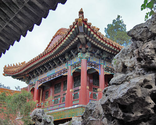 Juanqinzhai in the Qianlong Garden
