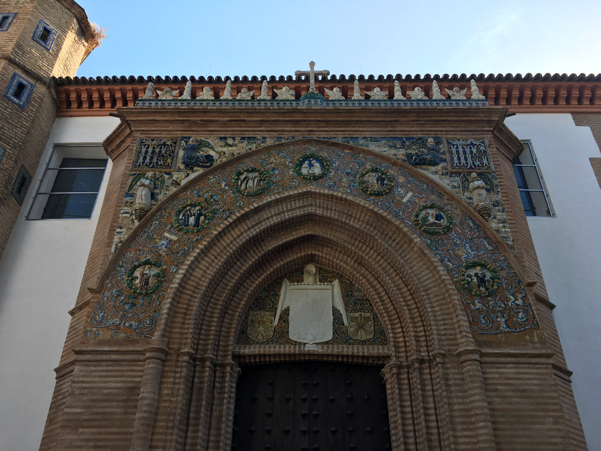 The Convent of Santa Ines in Seville, Spain