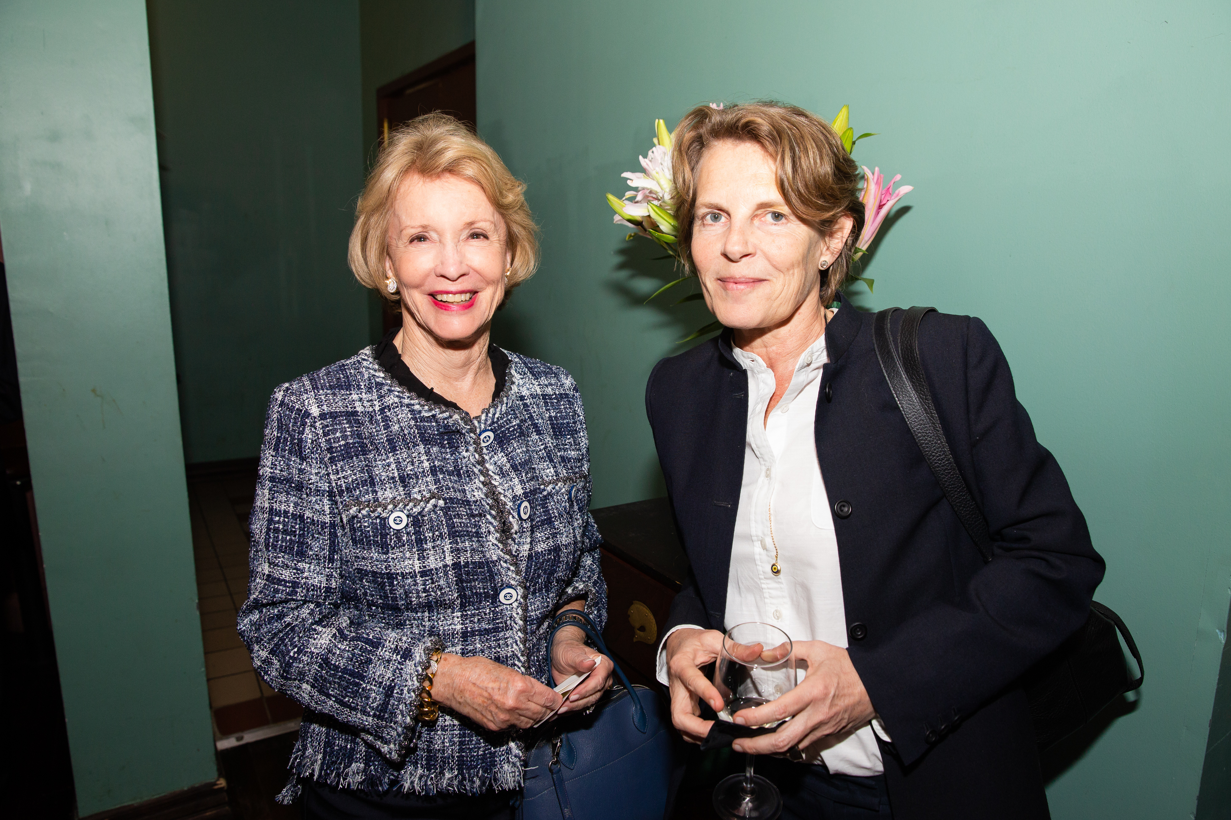 From left, Emily Frick and Annabelle Selldorf.