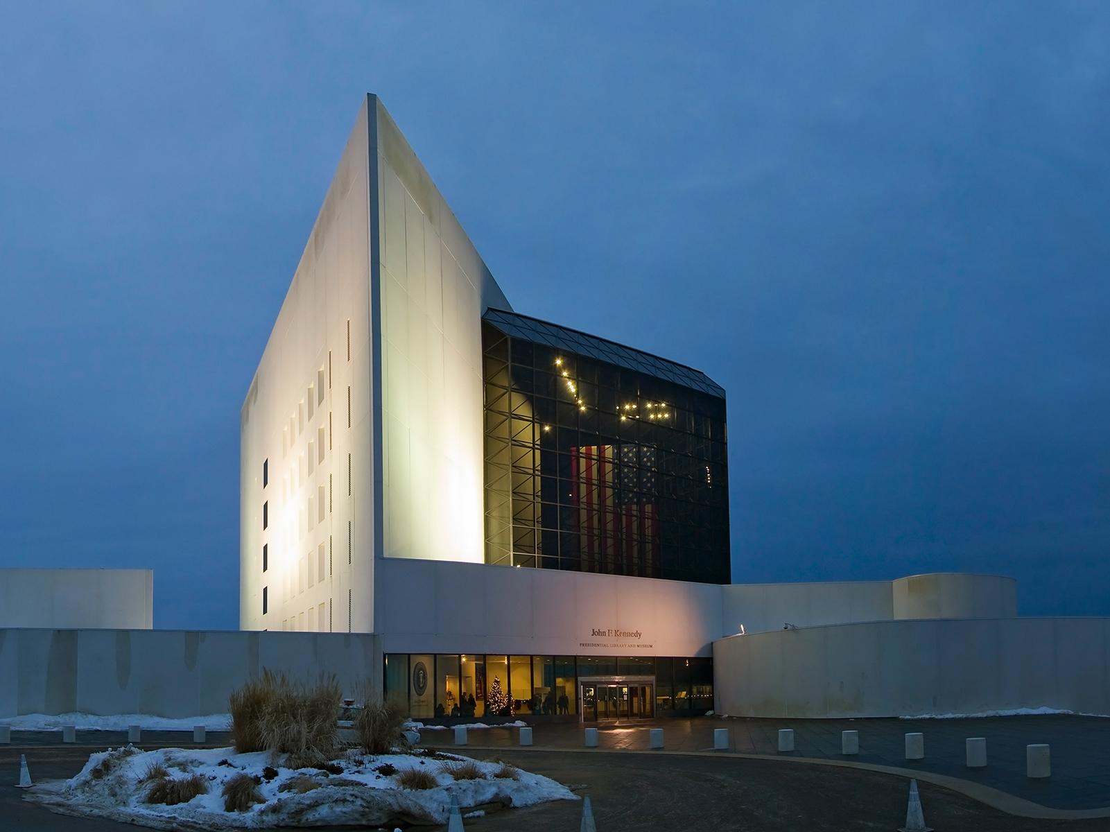 The John F Kennedy Library, Boston, MA (1979)