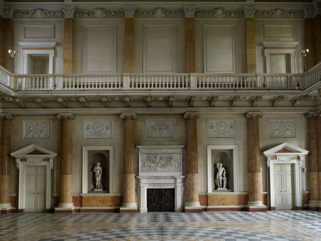 The Marble Saloon, Wentworth Woodhouse