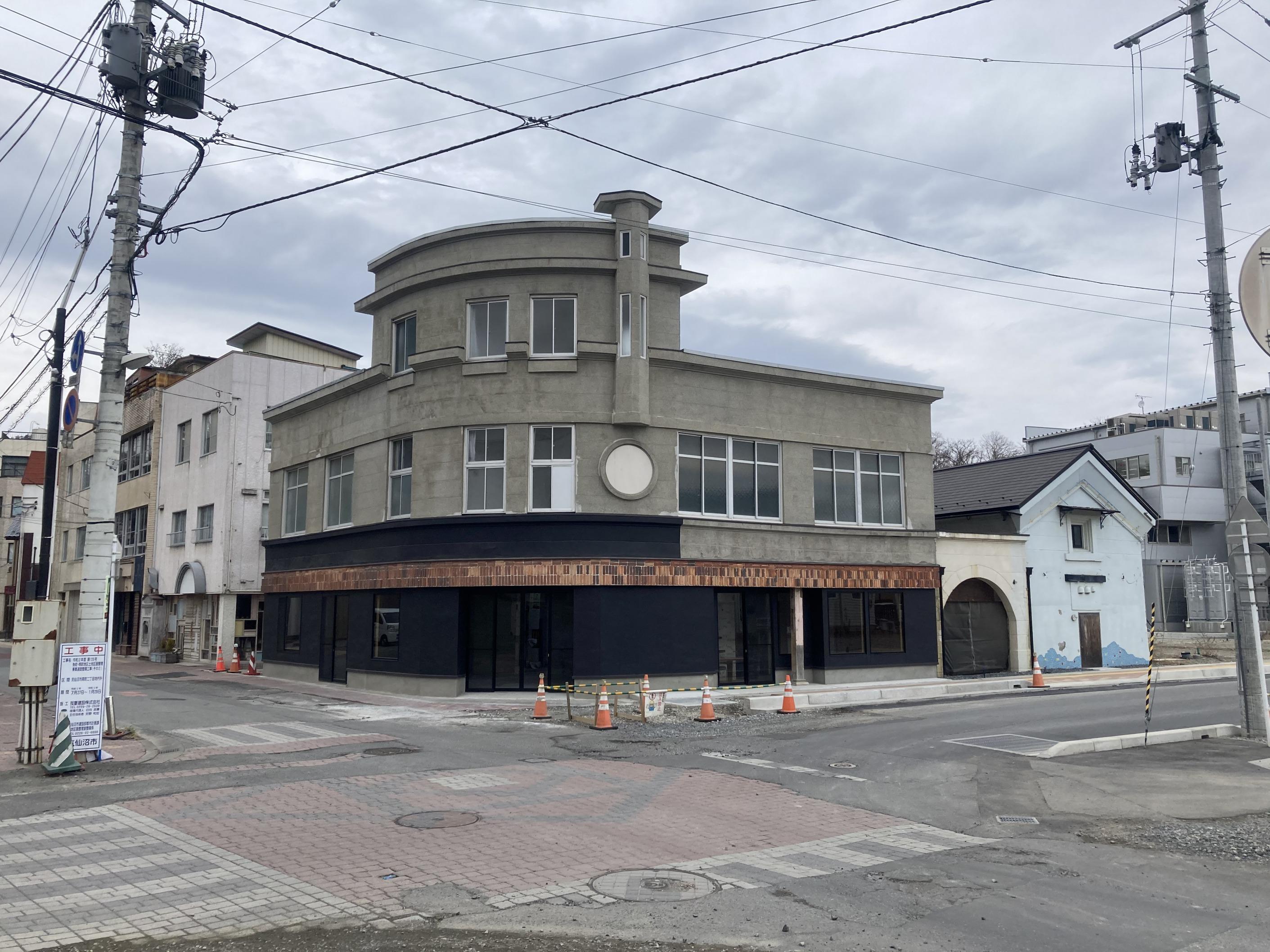 Facade of Chida House, Kesennuma, Japan