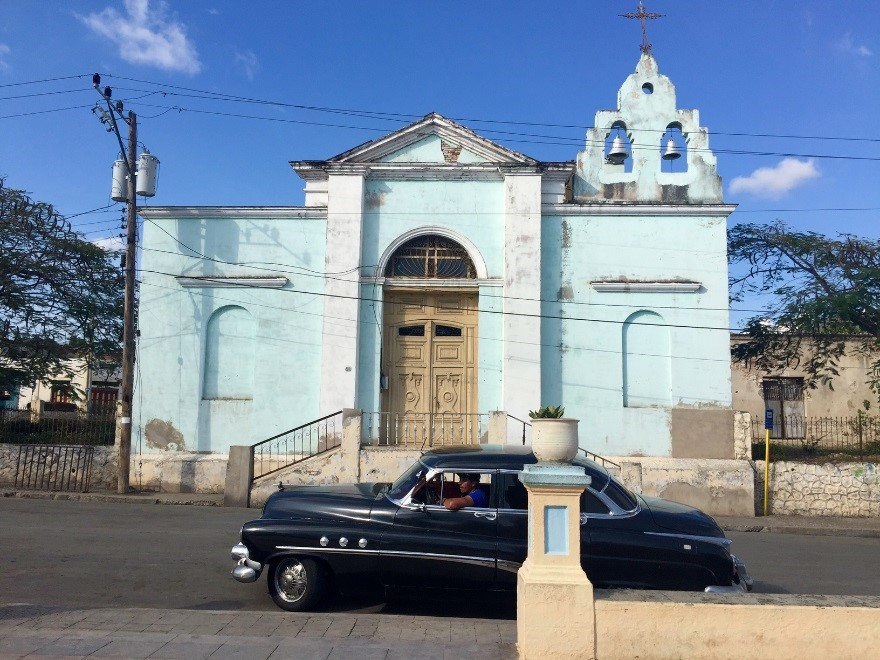 Church of San Luis del Caney, Santiago, Cuba