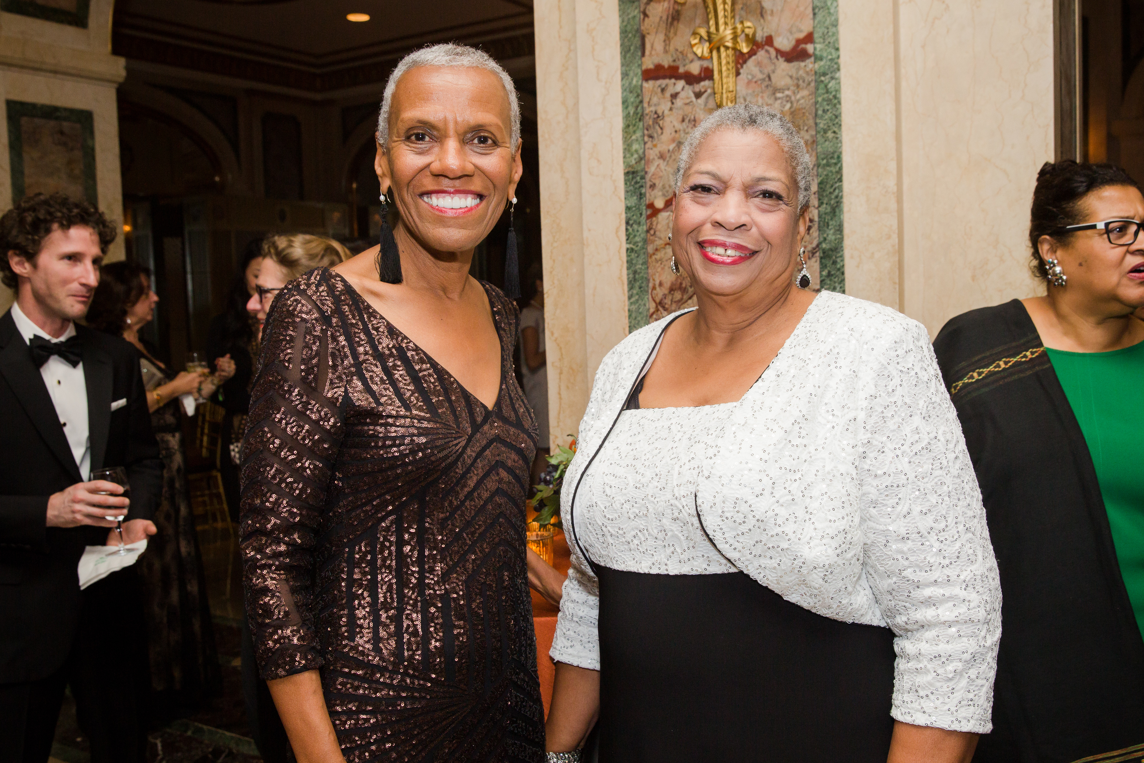From left: Andrea Taylor and Priscilla Hancock Cooper, representing the Alabama Civil Rights Sites, 2018 Watch (photo: Liz Ligon)