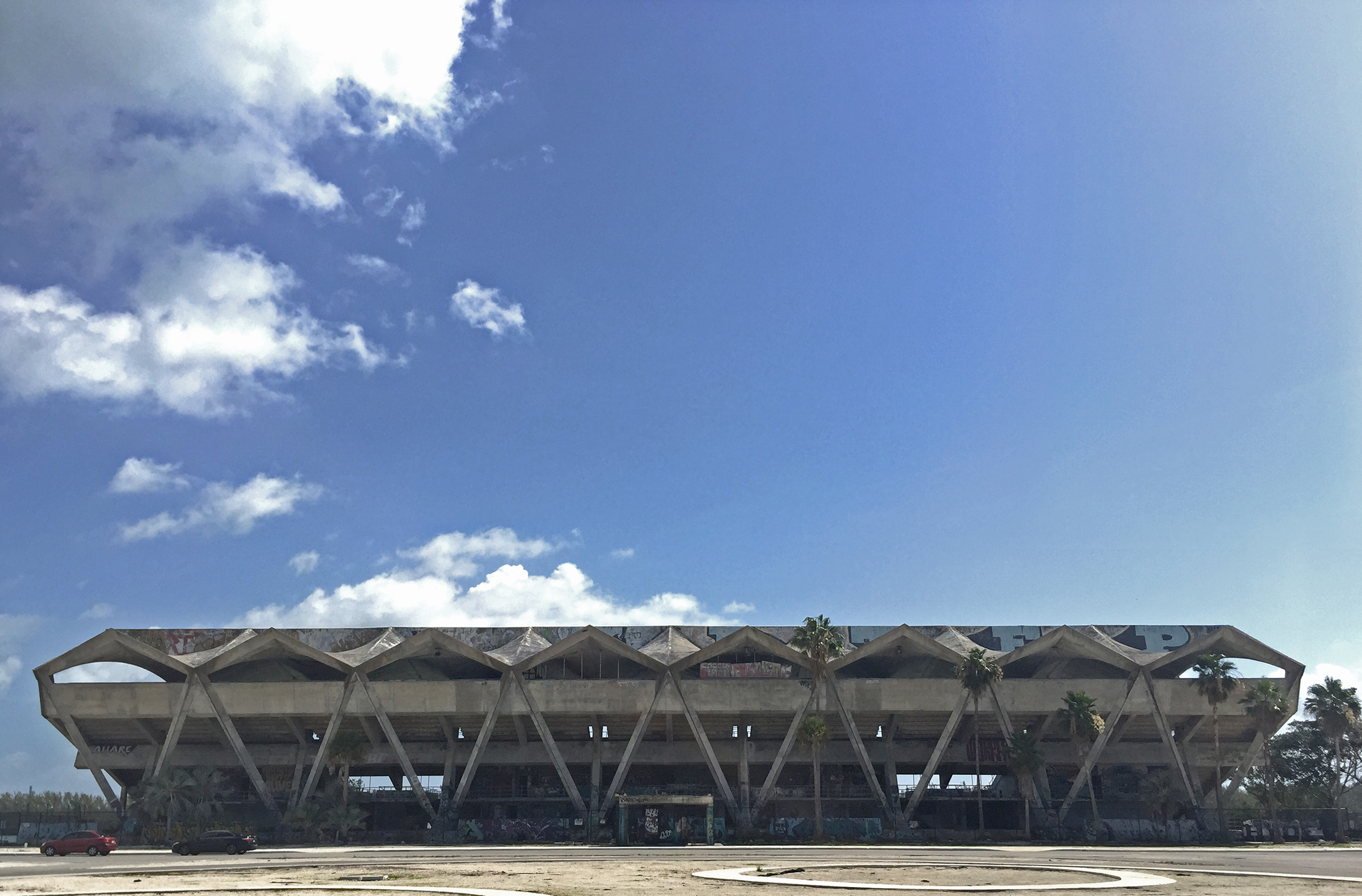 Miami Marine Stadium, summer 2018.