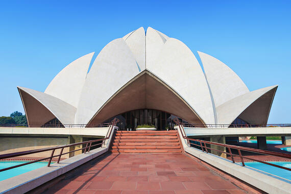 Lotus Temple, Bahá'í House of Worship (1986)