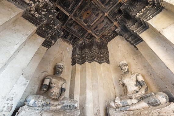 Wat Chaiwatthanaram boulos meru C4, interior