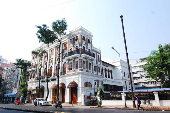 Exterior of the restored Royal Opera House, October 2016. Photo: Royal Opera House Mumbai