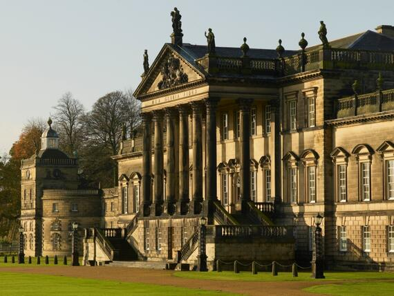 The east front of Wentworth Woodhouse