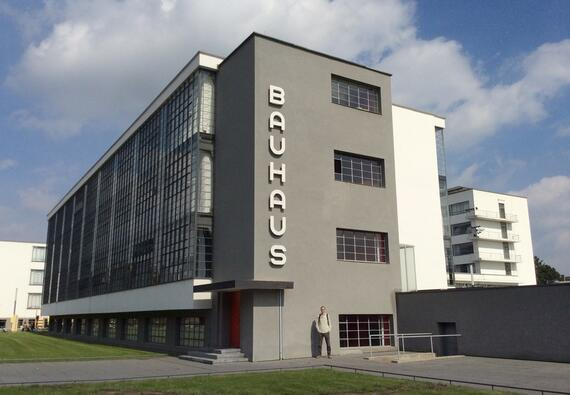 The Bauhaus workshop wing