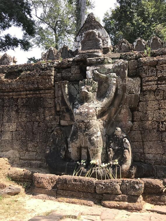 Garuda #1 at Preah Khan Temple