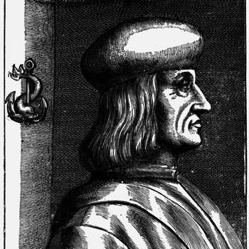 Aldus Manutius.
