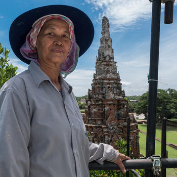 Khun Mali at Wat Chaiwatthanaram