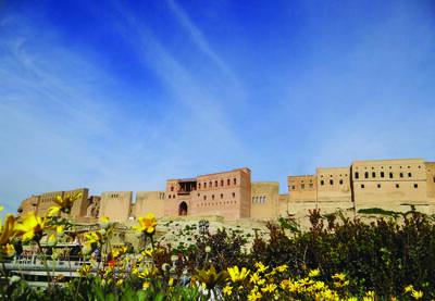 Erbil Citadel, photo courtesy of High Commission for Erbil Citadel Revitalization