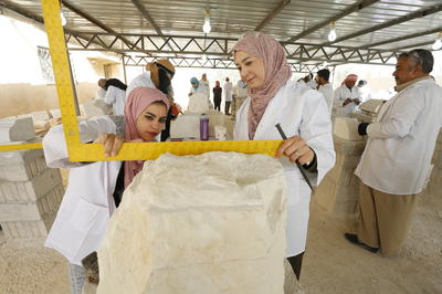 Developing skills in Mafraq, Jordan