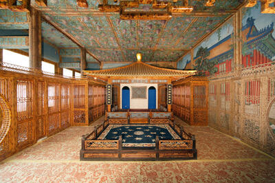 Theater Room at Palace Museum in Beijing