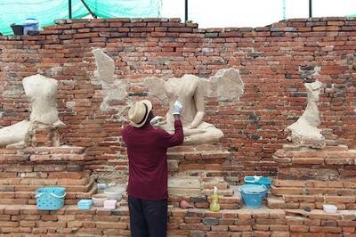Ousmane Kounta at Wat Chai
