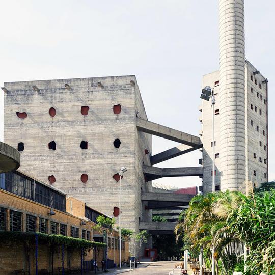 SESC Pompeia, Sao Paolo, Brazil