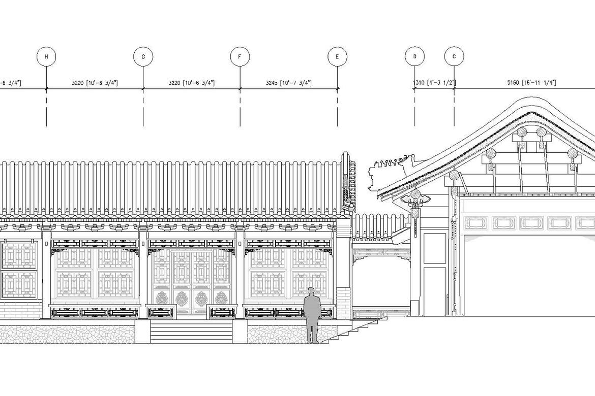 Drawing of the new Interpretation Center by Selldorf Architects.