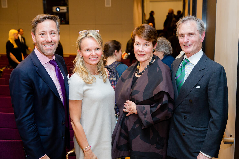 From left: Anthony Thompson, Monika McLennan, Brook Berlind, David Ford.