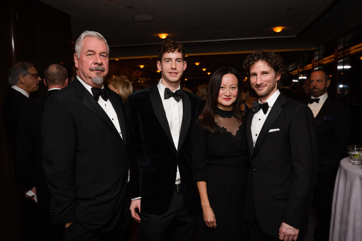 From left to right: Jack Shear, Alex Boller, Jacqueline Tran, Sean Ryan