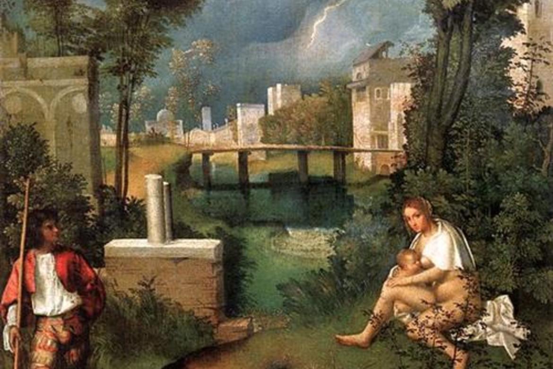 Giorgione, The Tempest. Gallerie dell'Accademia di Venezia.