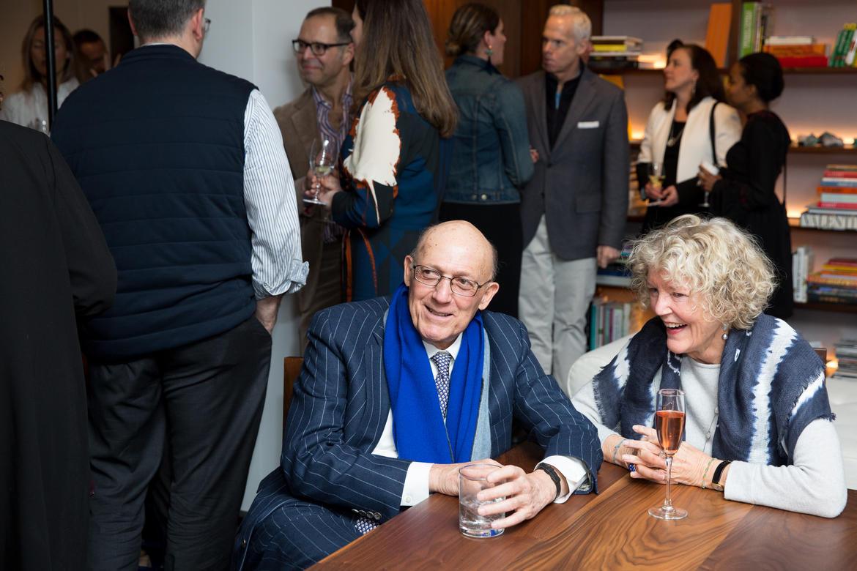 (L to R) Edwin Goodman and Wendy Keys.