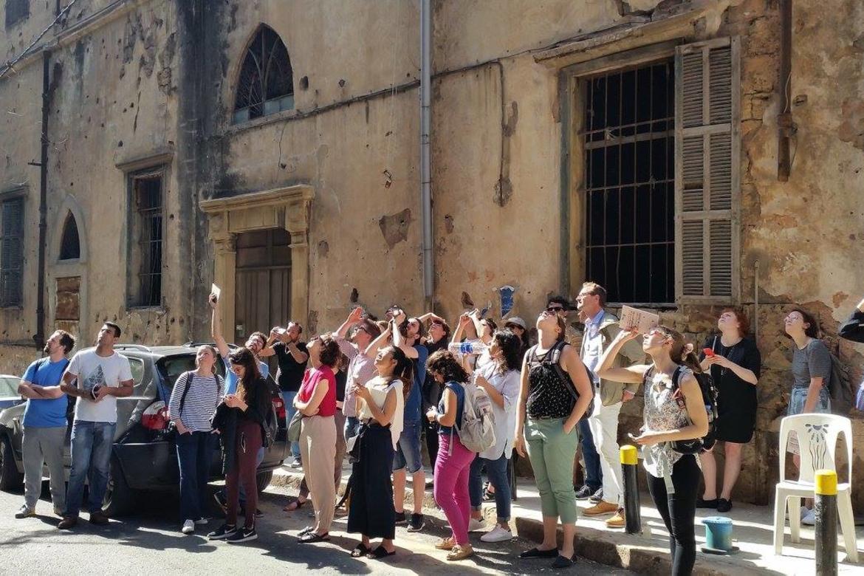 A walking tour through the historic neighborhoods of Beirut.