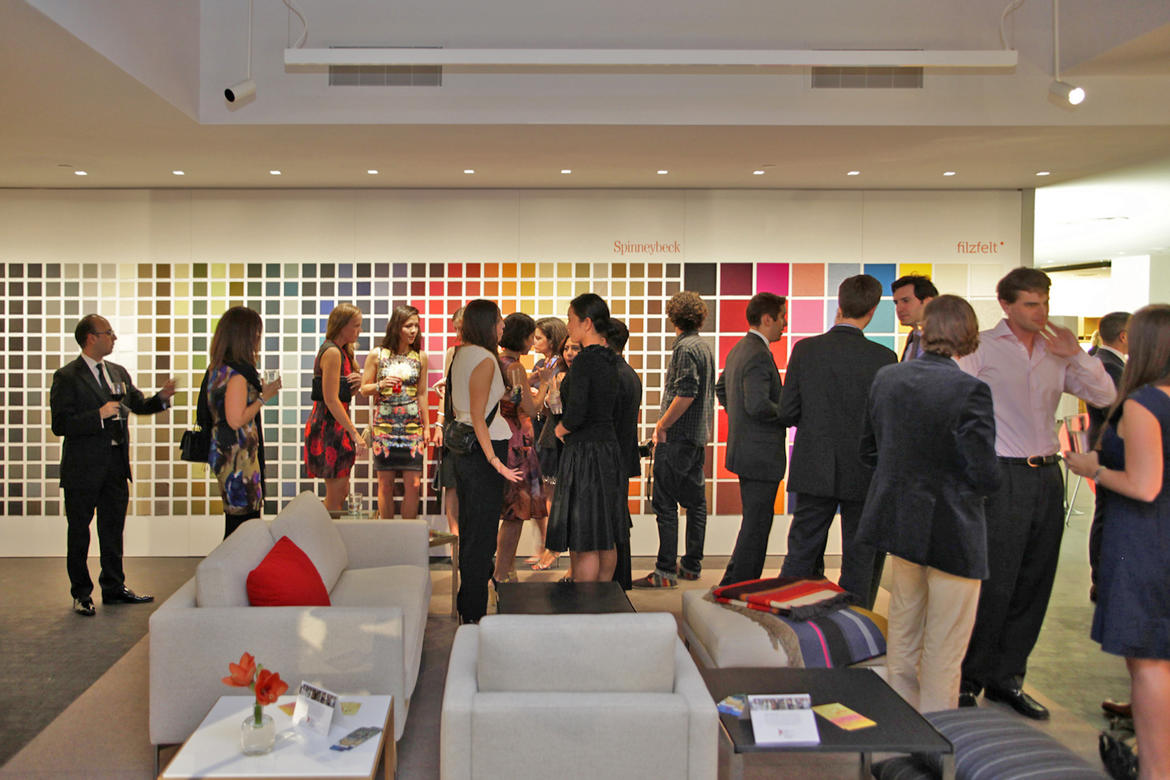 After Party at the Knoll showroom