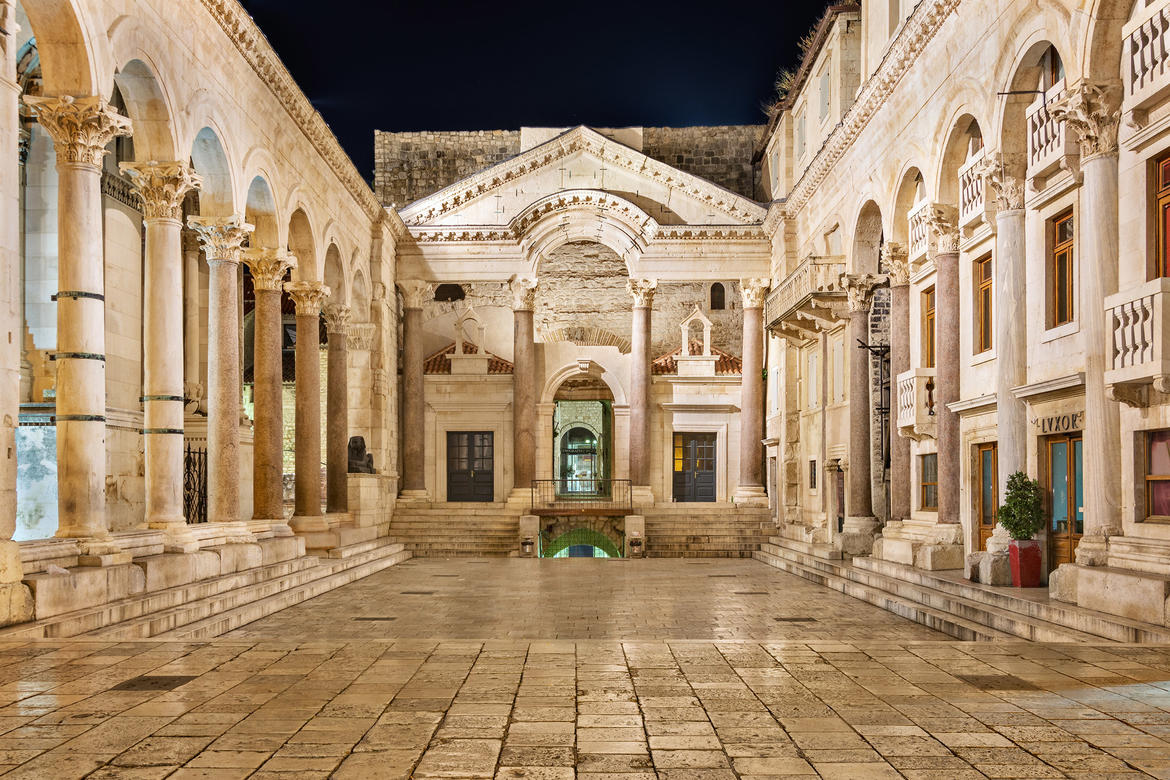 Diocletian's Palace (Croatia, 1996 Watch): American Express funding allowed for a conservation project at the palace, helping to reinvigorate cultural sites in Croatia after the conflict period.