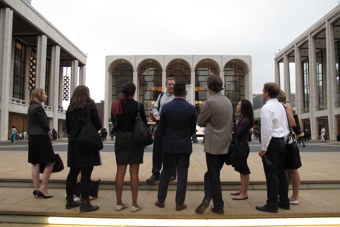 Tour of Lincoln Center