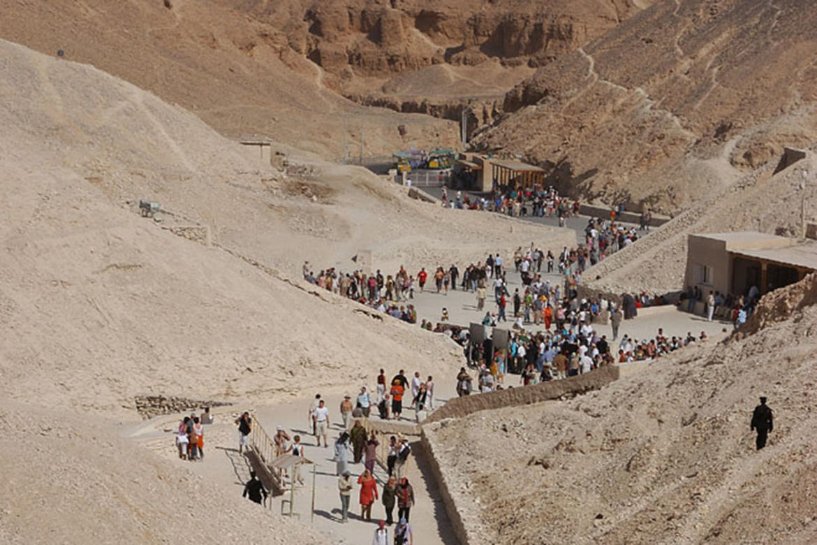Valley of the Kings (Egypt, 2000 and 2002 Watch): Support from American Express went towards the creation of an integrated site management plan that addressed conservation, tourism management, and research activities at the site.
