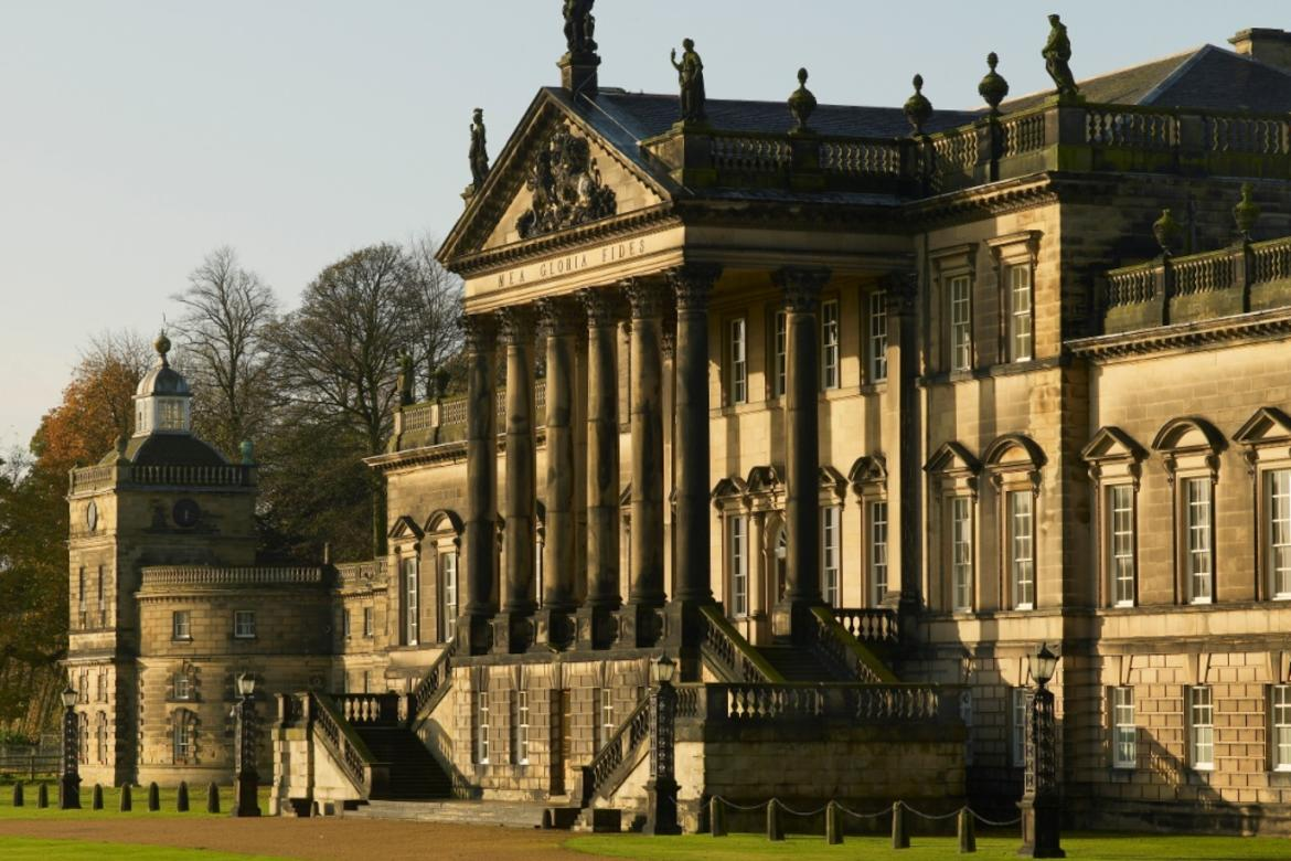 The east front of Wentworth Woodhouse.