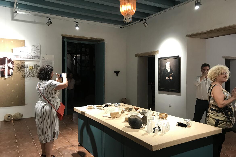 Artifacts at the Casa del Marino, 2019