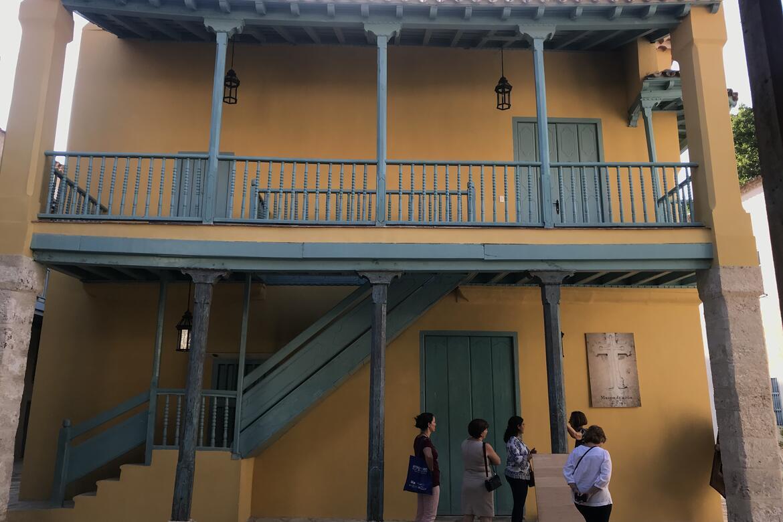 Exterior of Casa del Marino, 2019