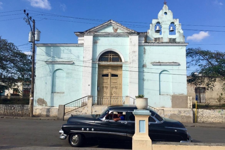 Church of San Luis del Caney, Santiago, Cuba