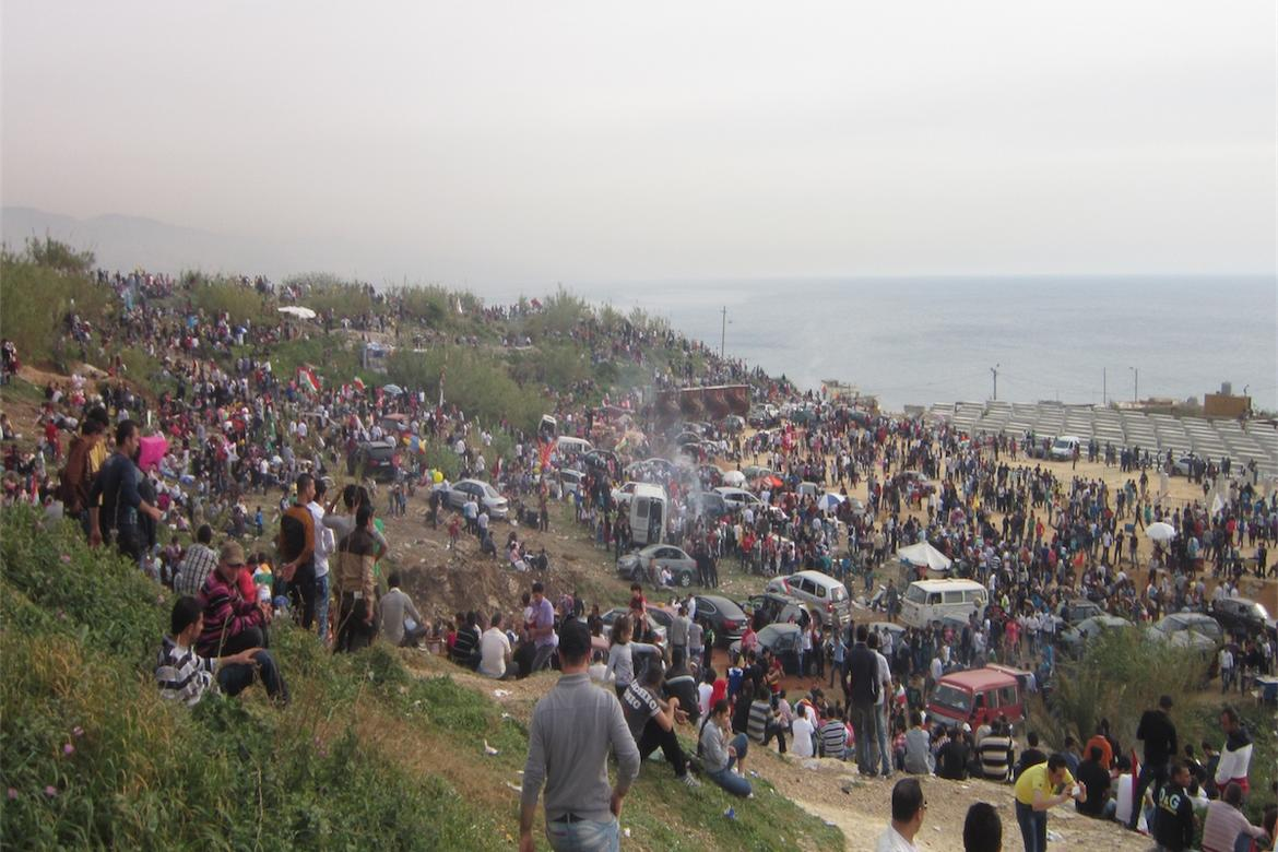 Nowroz celebration in Dalieh