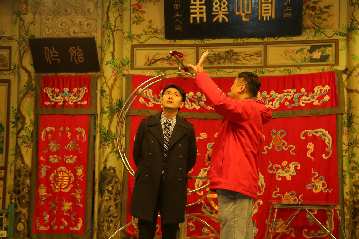 Hunghsi Chao tours the Grand Theater.