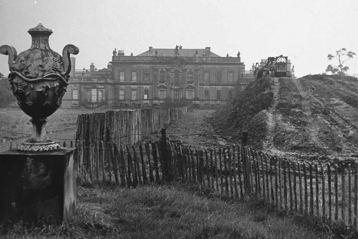 Coal mining at Wentworth Woodhouse