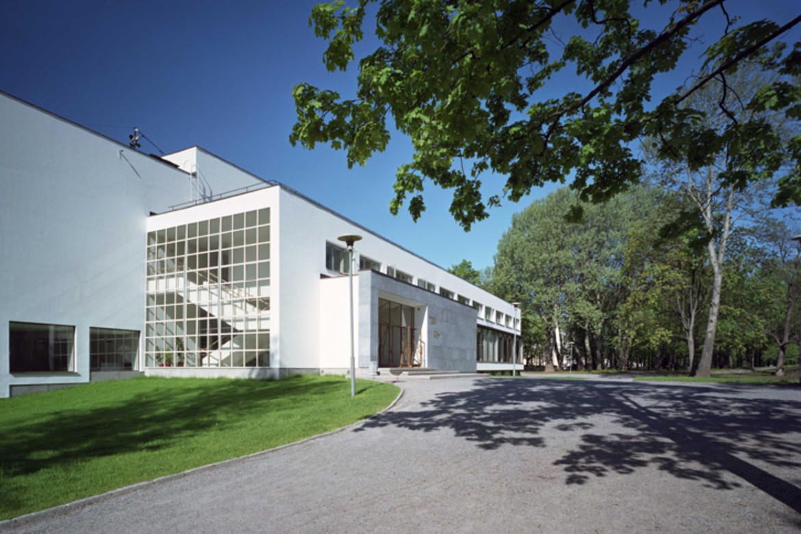 The 2014 World Monuments Fund/Knoll Modernism Prize was awarded to the Finnish Committee for the Restoration of Viipuri Library, with the Central City Alvar Aalto Library, for the restoration of Viipuri Library in Vyborg, the Russian Federation.