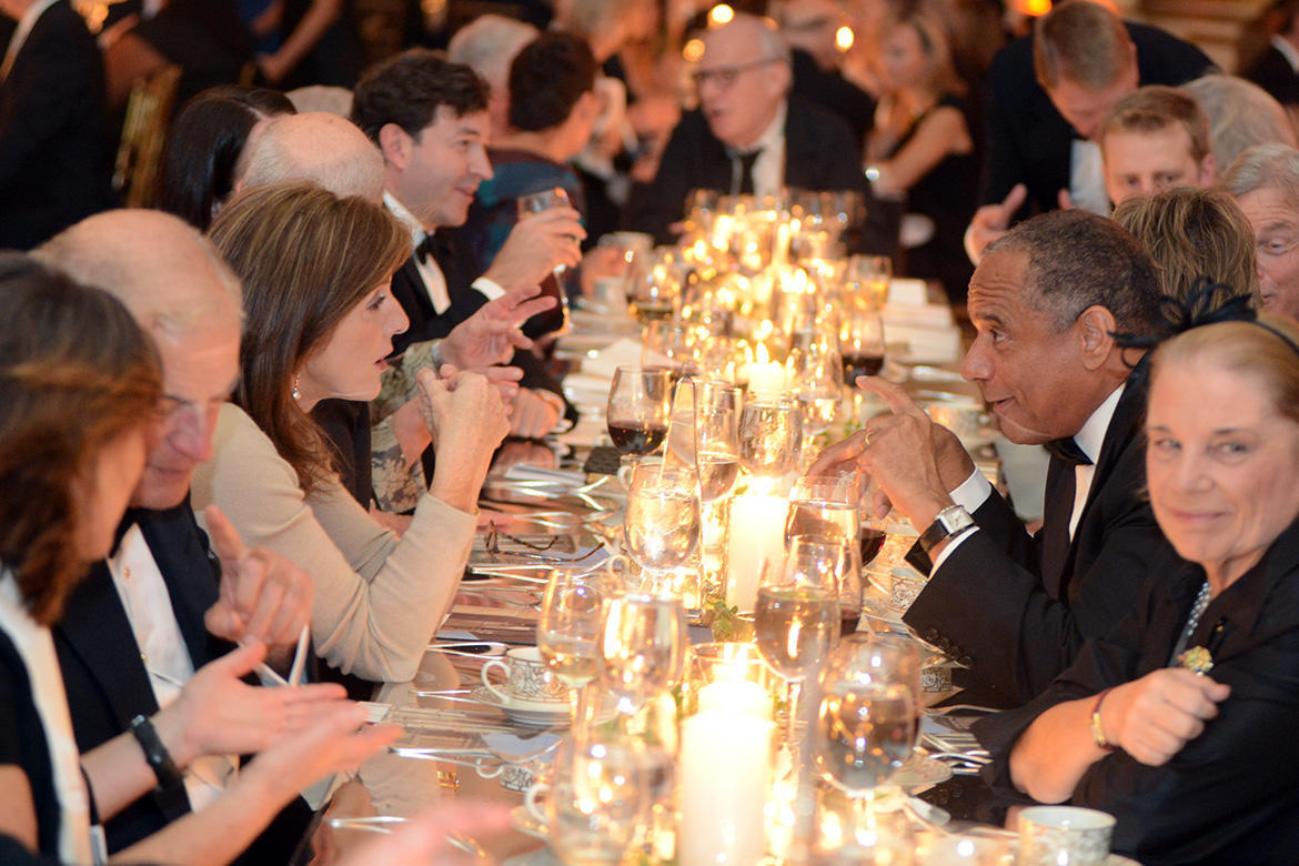 Guests at the Head Table, 2012