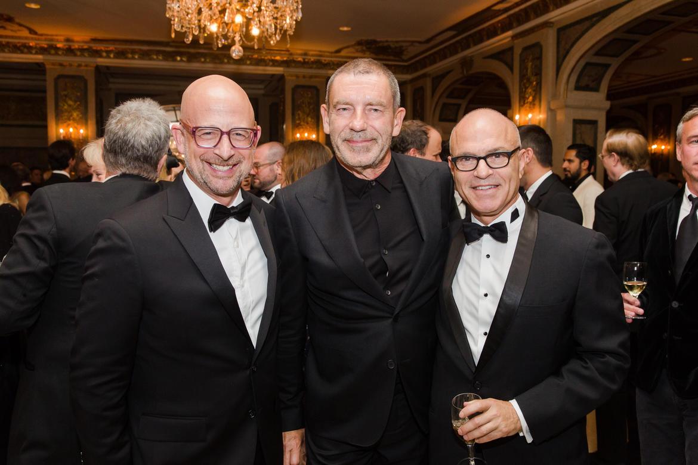 From left: Joshua David, Tomas Maier, and Mark Robbins (photo: Liz Ligon)