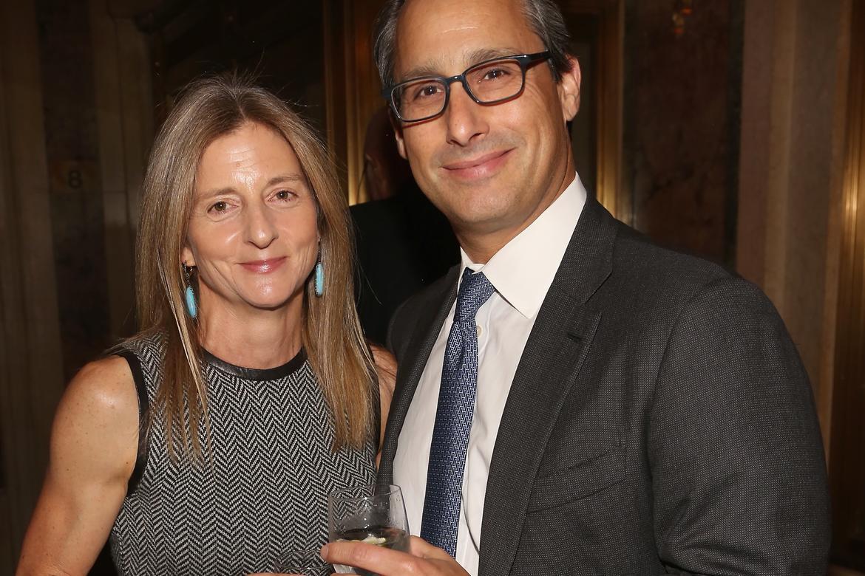 Linn and Robert Feidelson (photo: Sylvain Gaboury/PMc)