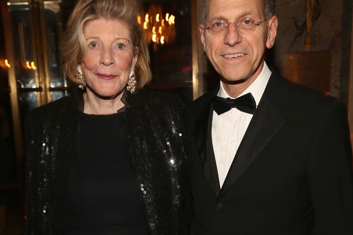 Agnes Gund and Craig Starr (photo: Sylvain Gaboury/PMc)