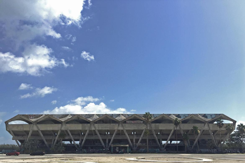 Miami Marine Stadium, summer 2018.