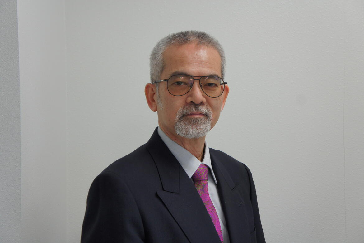 Mr. Juko Ito, President of the Kumamoto Machinami Trust.