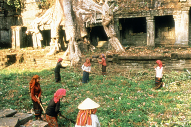 Preah Khan, Angkor Archaeological Park, East Gopura III, c 1993