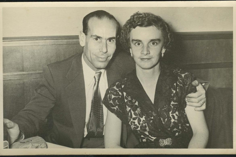 Myra and her late husband, Nick.